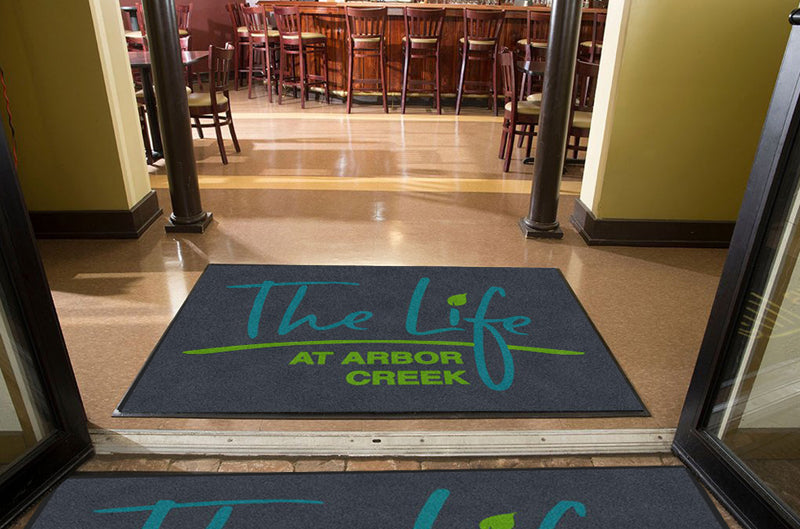 arbor 4 X 6 Rubber Backed Carpeted HD - The Personalized Doormats Company