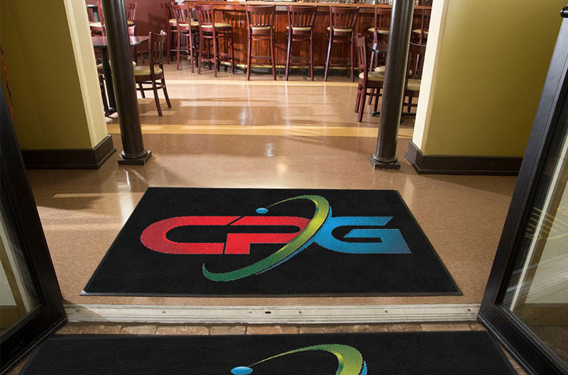 CP Group 4 X 6 Rubber Backed Carpeted - The Personalized Doormats Company