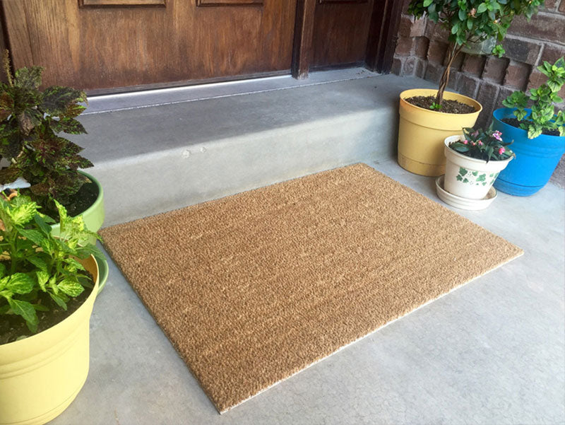 GIGUNDA GROUP 2 X 3 Flocked Classic Coir (PDC) - The Personalized Doormats Company