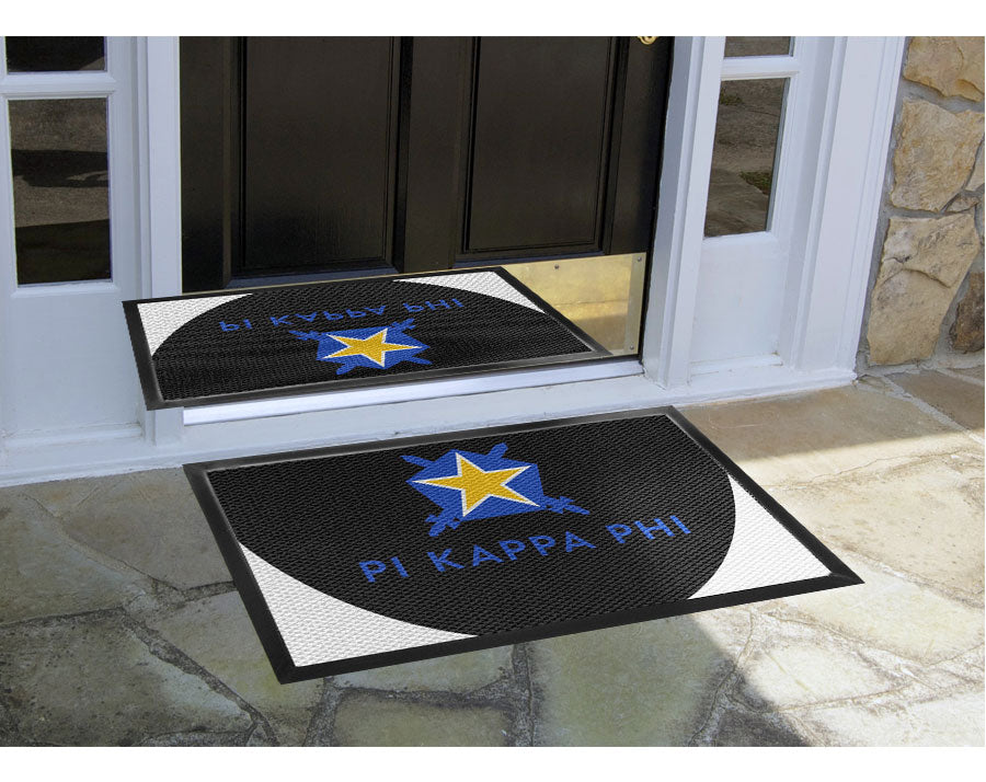Customized Mat 2 X 3 Luxury Berber Inlay - The Personalized Doormats Company