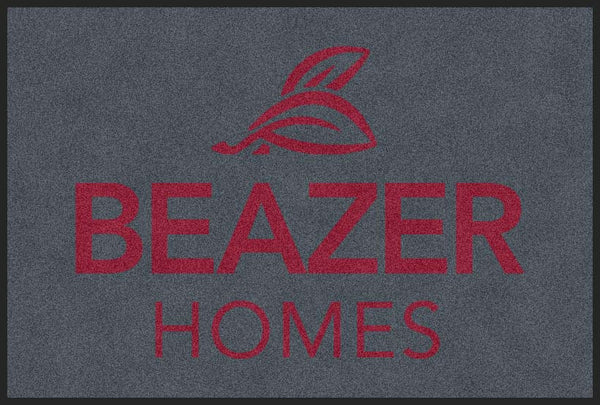 Beazer 2 X 3 Rubber Backed Carpeted HD - The Personalized Doormats Company