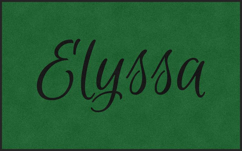 Elyssa 5 X 8 Rubber Backed Carpeted HD - The Personalized Doormats Company