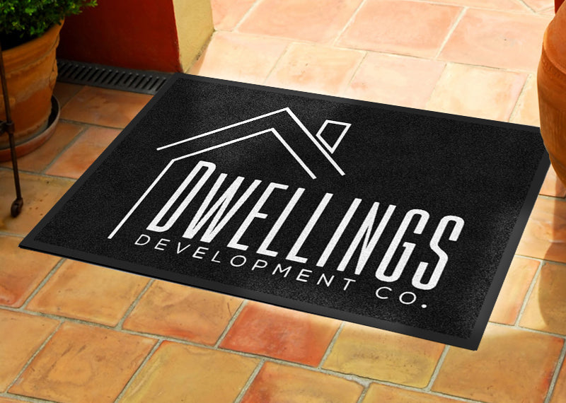 2 X 3 - CREATE -109535 2 x 3 Rubber Backed Carpeted HD - The Personalized Doormats Company