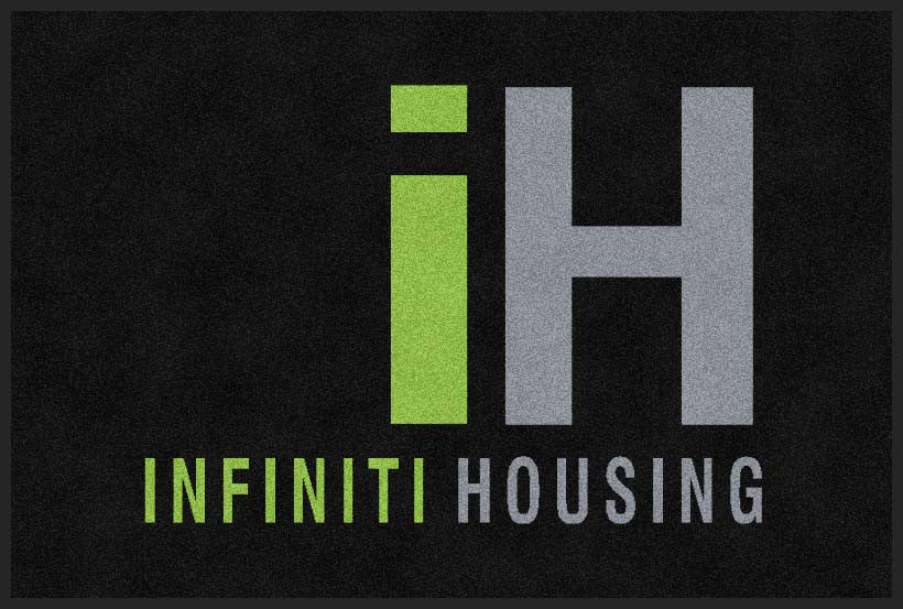 INIFINITI HOMES 2 X 3 Rubber Backed Carpeted HD - The Personalized Doormats Company