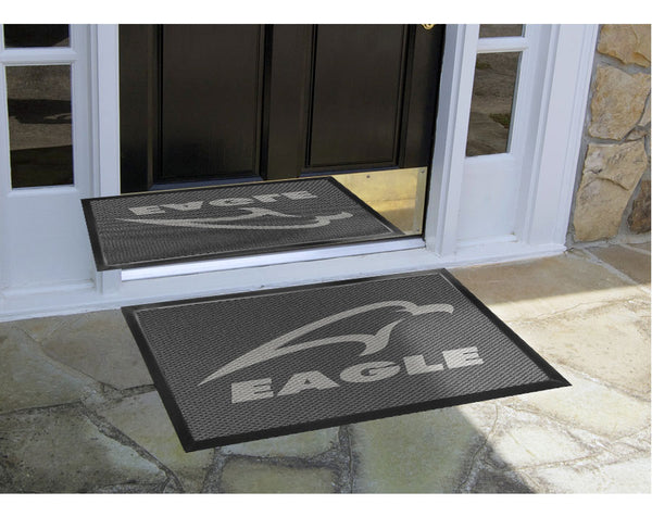 Eagle 2 X 3 Luxury Berber Inlay - The Personalized Doormats Company