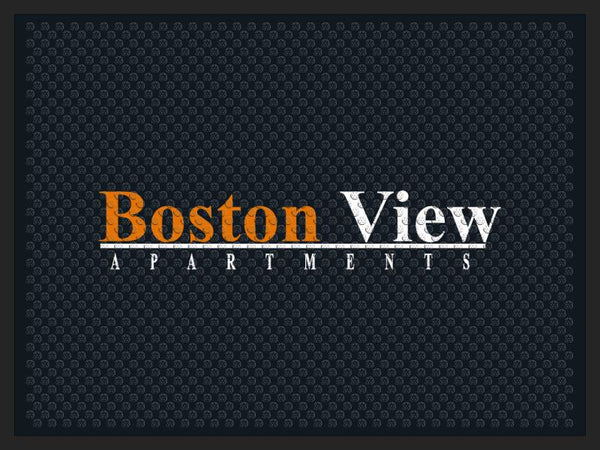 BostonView Garage 3 x 4 Rubber Scraper - The Personalized Doormats Company