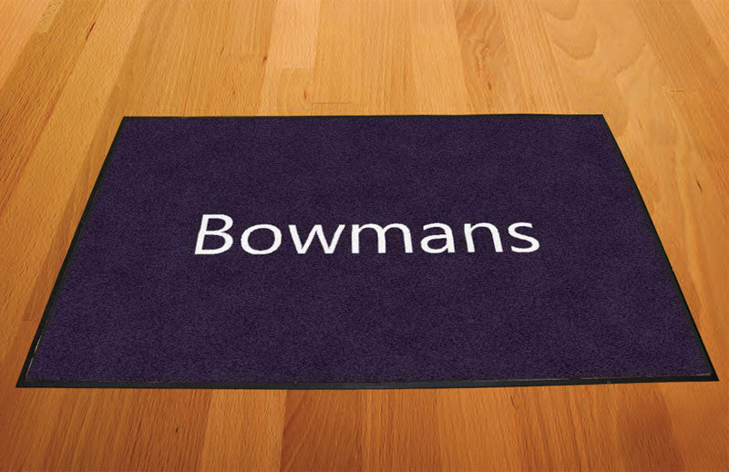 1982 2 X 3 Rubber Backed Carpeted HD - The Personalized Doormats Company