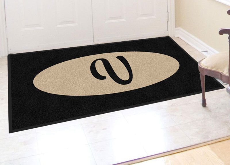 Front Door Mat 3 X 6 Rubber Backed Carpeted HD - The Personalized Doormats Company