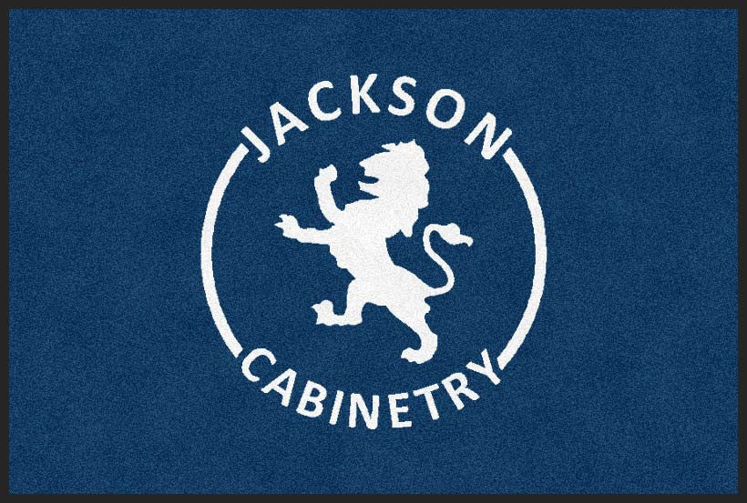 Jackson Cabinetry 2 x 3 Flocked Olefin 2 Color - The Personalized Doormats Company