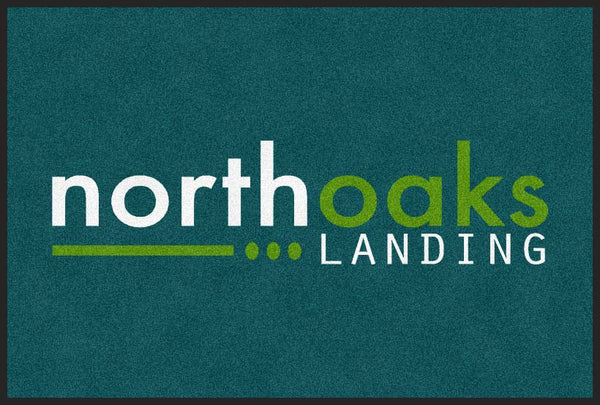 North Oaks Landing Logo Mat