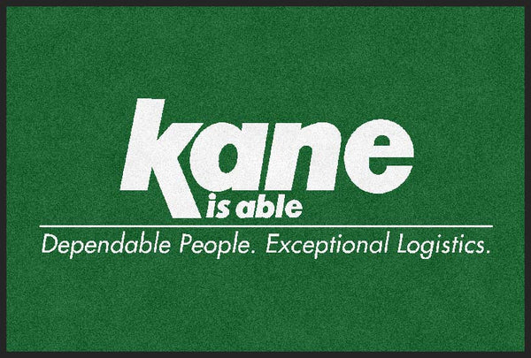 Kane Is Able 4 x 6 Rubber Backed Carpeted HD - The Personalized Doormats Company
