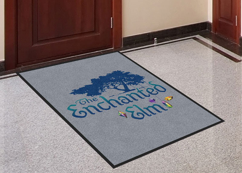 Enchanted 3 x 4 Rubber Backed Carpeted HD - The Personalized Doormats Company