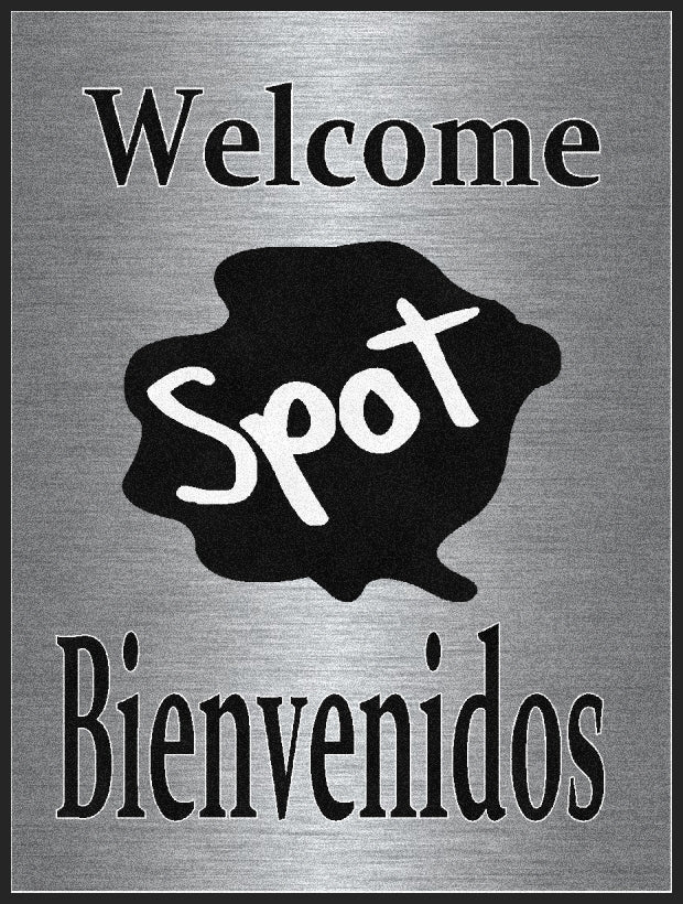 3x4 Spot Logomat 3 x 4 Rubber Backed Carpeted HD - The Personalized Doormats Company