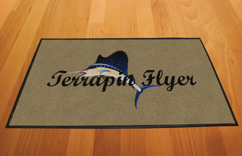 Blue Chip Moving 2 X 3 Rubber Backed Carpeted - The Personalized Doormats Company