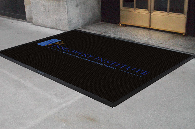 discovery institute 8 X 10 Luxury Berber Inlay - The Personalized Doormats Company