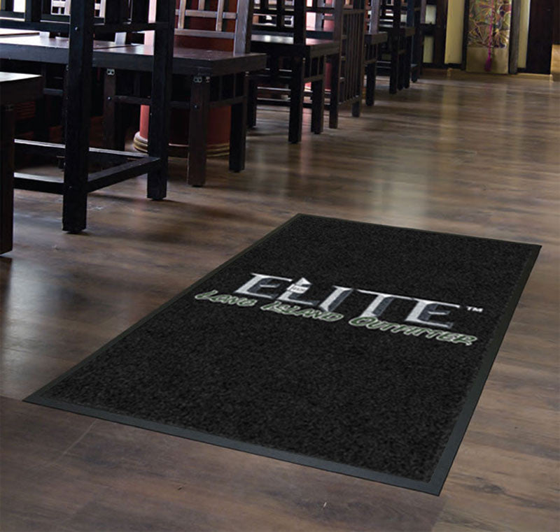 ELITE LONG ISLAND OUTFITTER 4 X 6 Rubber Backed Carpeted HD - The Personalized Doormats Company