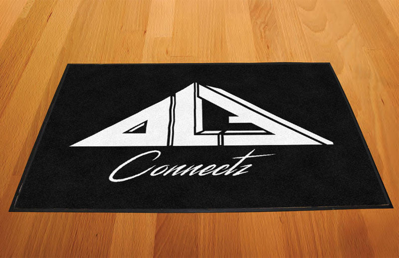 DLF Connectz 2 X 3 Rubber Backed Carpeted HD - The Personalized Doormats Company