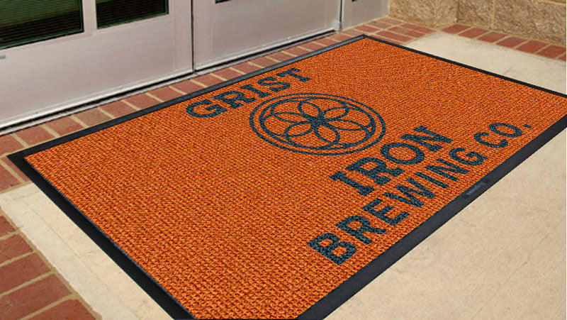 Grist Iron 3 x 5 Waterhog Inlay - The Personalized Doormats Company