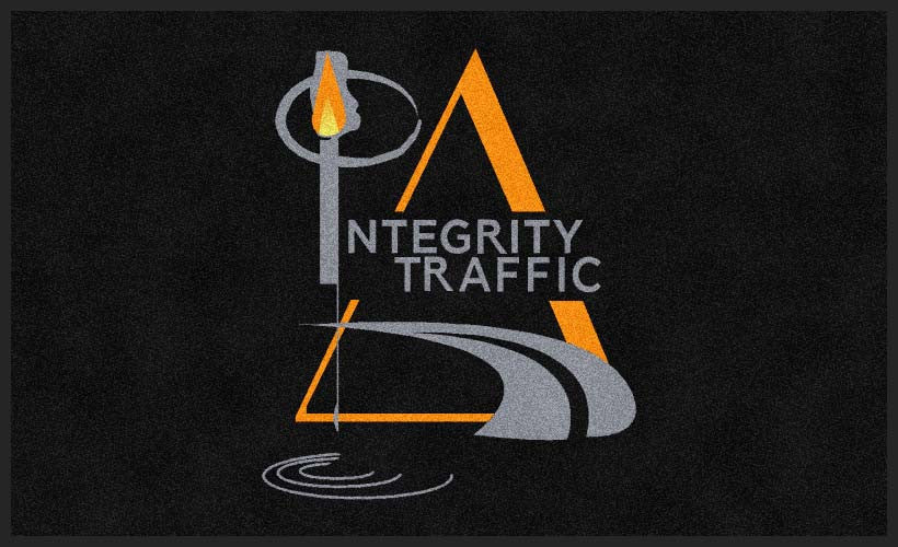 Integrity Traffic, LLC 3 X 5 Rubber Backed Carpeted HD - The Personalized Doormats Company