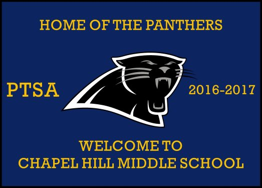 CHAPEL HILL MIDDLE SCHOOL 9.83 X 13.75 Luxury Berber Inlay - The Personalized Doormats Company