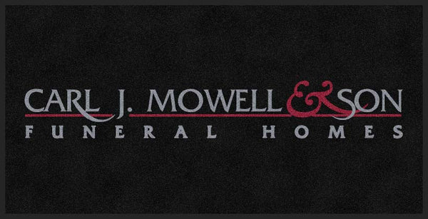 CARL J MOWELL & SON 4 X 8 Rubber Backed Carpeted HD - The Personalized Doormats Company