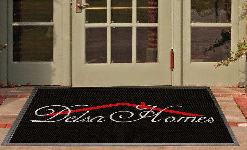 DELSA HOMES 3 X 5 Luxury Berber Inlay - The Personalized Doormats Company