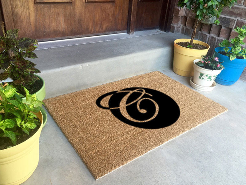 Crowl & Associates, PLLC 2 X 3 Flocked Classic Coir (PDC) - The Personalized Doormats Company
