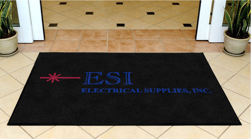 ESI INC 3 X 5 Rubber Backed Carpeted HD - The Personalized Doormats Company