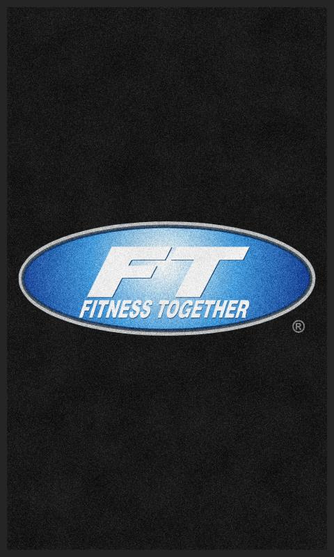 Fitness Together Ballantyne Front-option 3 X 5 Custom Plush 30 HD - The Personalized Doormats Company