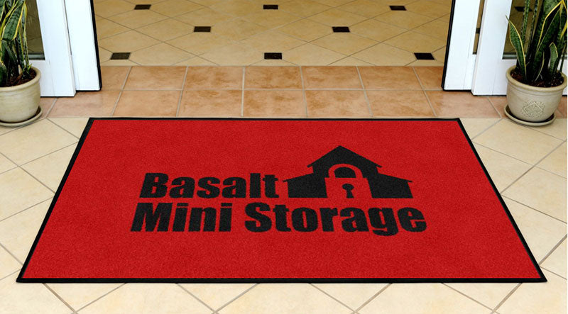 BMS Office 3 x 5 Rubber Backed Carpeted - The Personalized Doormats Company