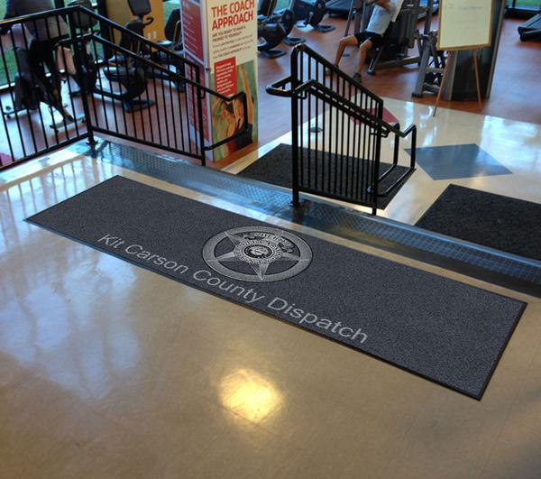 Create Your Own 3 x 10 Rubber Backed Carpeted HD Logomat Rubber Backed Carpeted HD - The Personalized Doormats Company