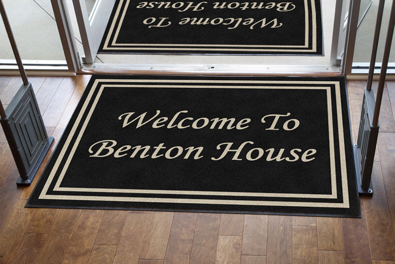 DOUBLE BORDER|WELCOME TO THE BENTON HOUSE