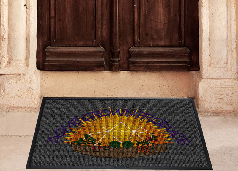 Dome Grown Products 2 X 3 Waterhog Impressions - The Personalized Doormats Company