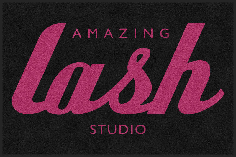 Amazing Lash 4 X 6 Rubber Backed Carpeted HD - The Personalized Doormats Company