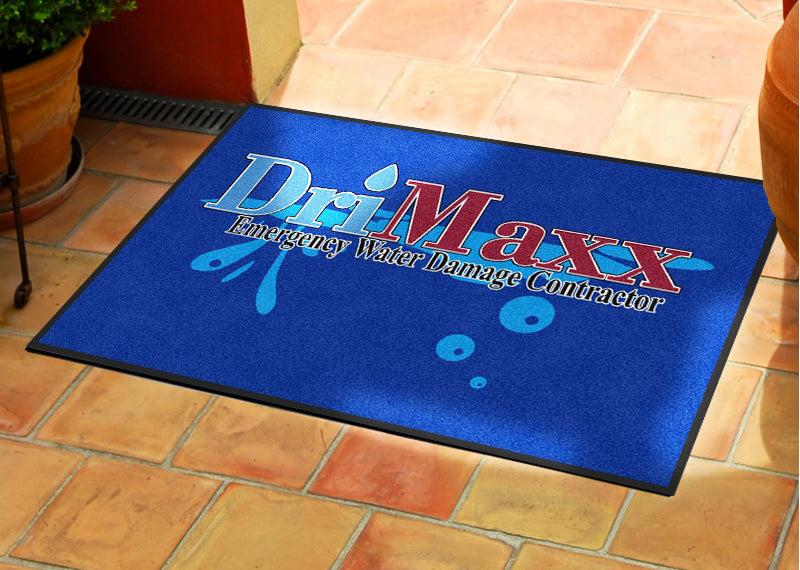 DriMaxx 2 X 3 Rubber Backed Carpeted HD - The Personalized Doormats Company
