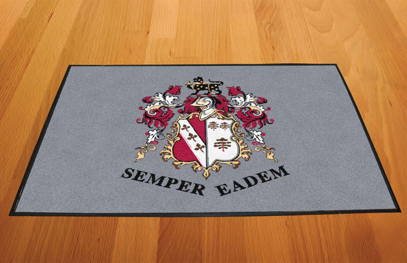 Benito 2 X 3 Rubber Backed Carpeted HD - The Personalized Doormats Company