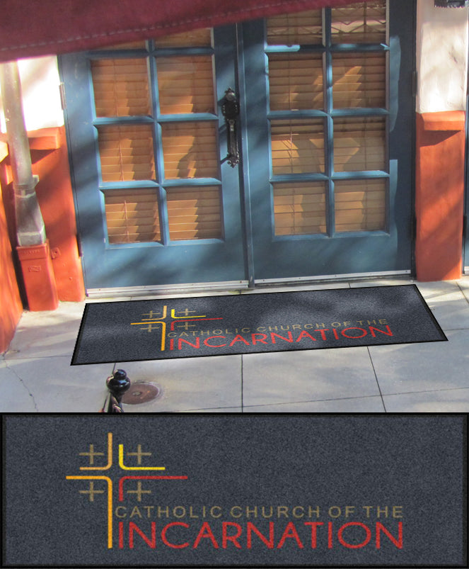 Incarnation 2 X 5 Rubber Backed Carpeted HD - The Personalized Doormats Company