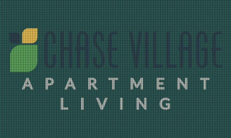chase village 3 x 5 Waterhog Inlay - The Personalized Doormats Company