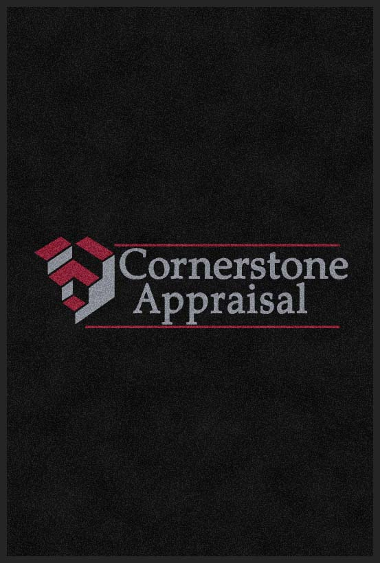 Cornerstone Appraisal 4 X 6 Rubber Backed Carpeted HD - The Personalized Doormats Company