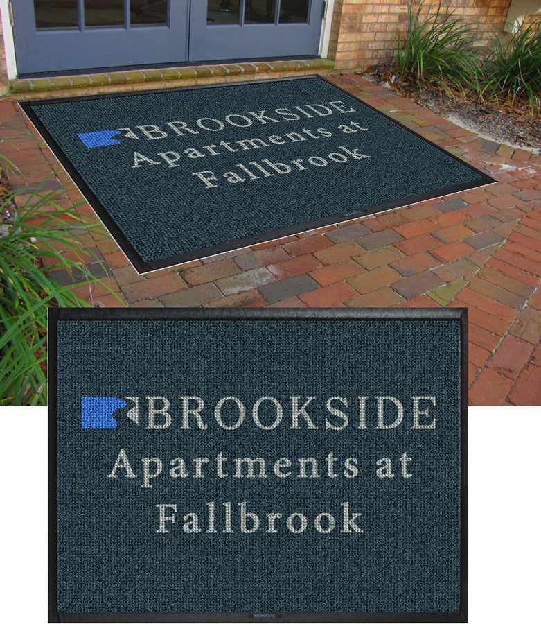 Brookside 6 x 8 Waterhog Inlay - The Personalized Doormats Company