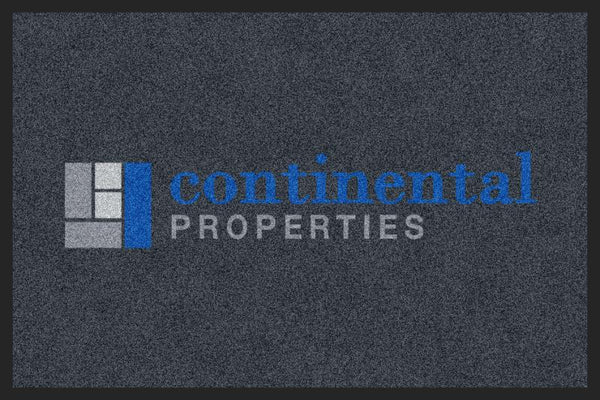 Continental Properties 2 x 3 Custom Plush 30 HD - The Personalized Doormats Company