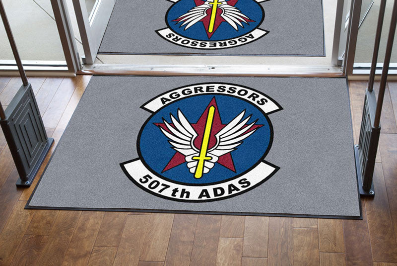 507 ADAS 4 X 6 Rubber Backed Carpeted HD - The Personalized Doormats Company
