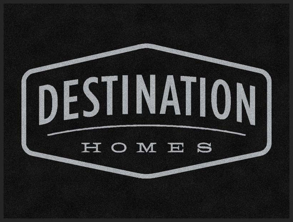 Destination Homes 3 x 4 Rubber Backed Carpeted HD - The Personalized Doormats Company
