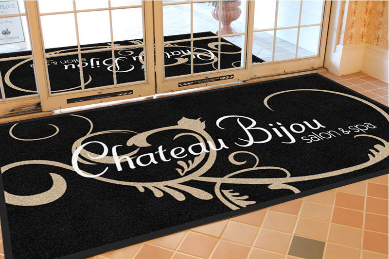 Chateau Bijou 3 X 7 Rubber Backed Carpeted HD - The Personalized Doormats Company