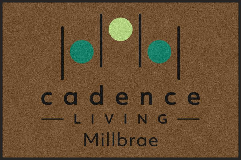 Cadence Millbrae - Building Two Entry Ma 4 X 6 Rubber Backed Carpeted HD - The Personalized Doormats Company