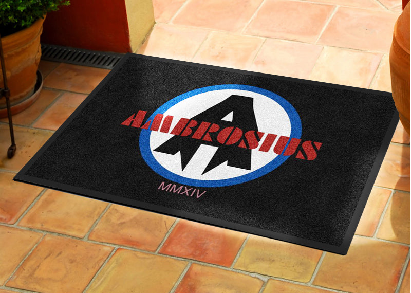 Ambrosius 2 X 3 Rubber Backed Carpeted HD - The Personalized Doormats Company