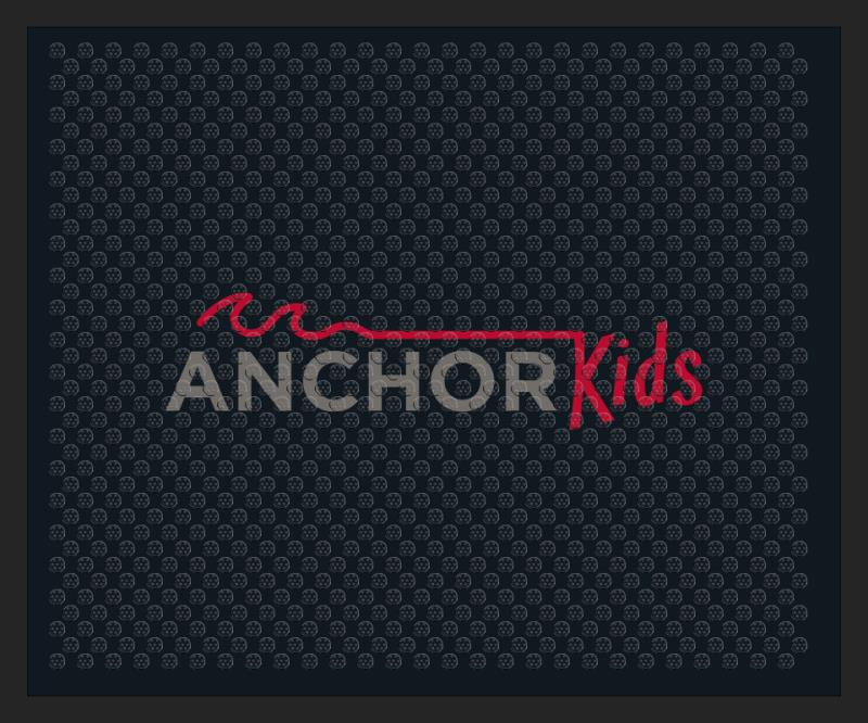 Anchor Kids 2.5 X 3 Rubber Scraper - The Personalized Doormats Company