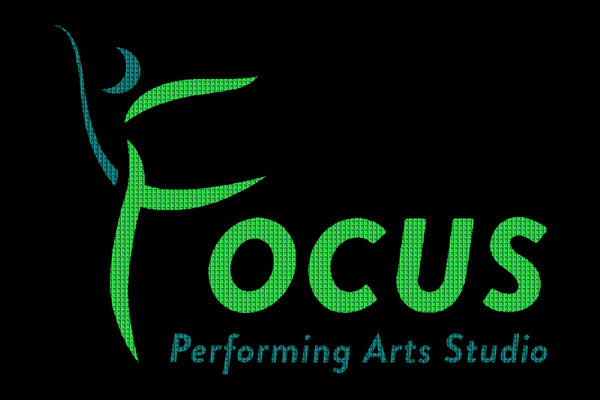 Focus Performing Arts Studio 4 x 6 Waterhog Impressions - The Personalized Doormats Company