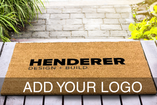 Create Your Own 2 x 3 Classic Coir Logo Mat | Add Your Logo To A Classic Coir Doormat Classic Coir - The Personalized Doormats Company