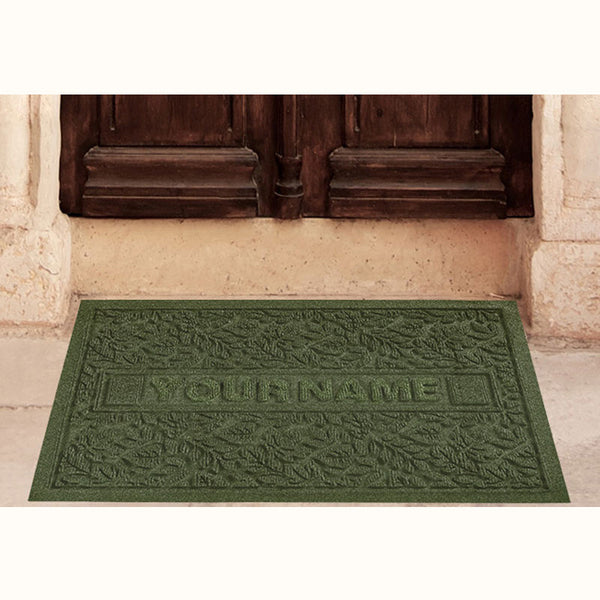 2 x 3 Carpeted Waterhog Doormat Standard Personalized Carpeted Waterhog - The Personalized Doormats Company